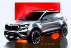 Skoda разкри дизайна на нов кросоувър