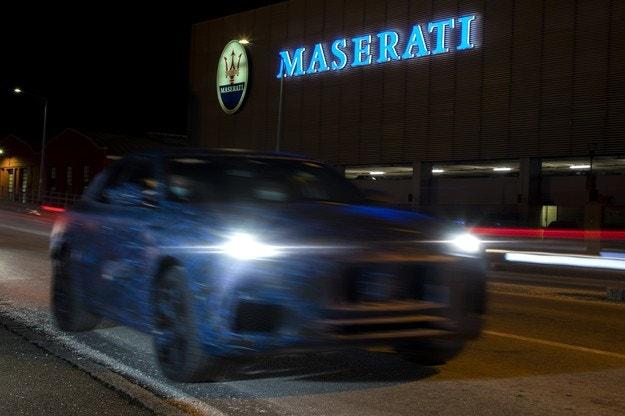 Първи изображения на Maserati Grecale