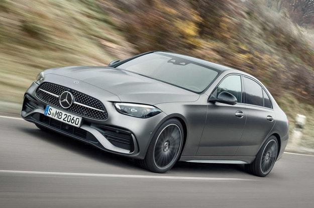 Mercedes представи новата C-класа W206
