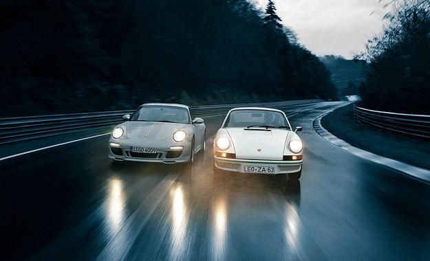 Porsche 911 Carrera RS 2.7 и 911 Sport Classic: Лека мощ