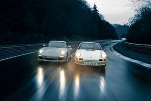Porsche 911 Carrera RS 2.7 и 911 Sport Classic
