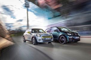 BMW I3S срещу Mini Cooper SE