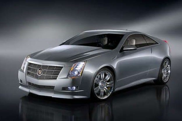 Cadillac CTS Coupе
