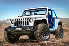 Jeep представя четири нови всъдехода