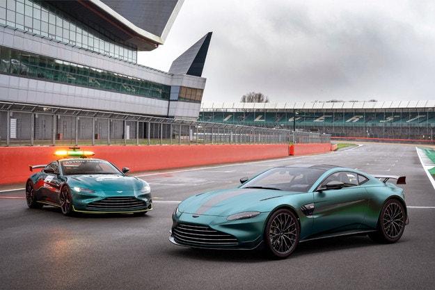 Това е новият Aston Martin Vantage F1