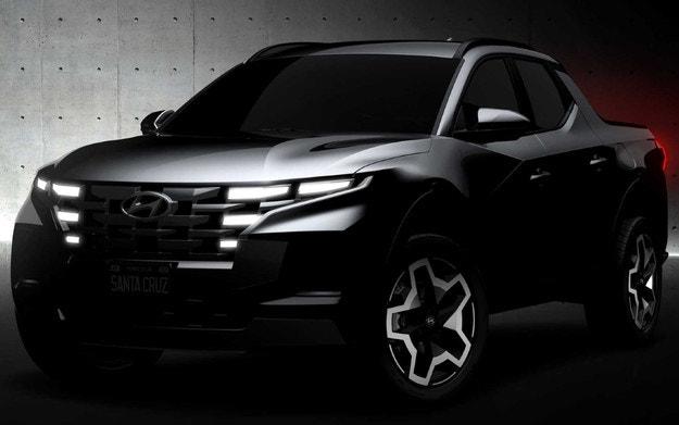 Първи изображения на новия пикап Hyundai
