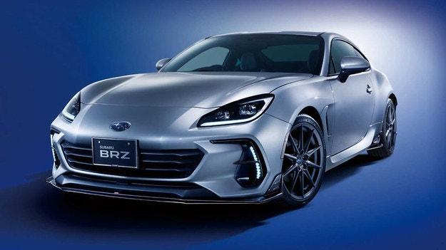 Subaru показа заводски тунинг за купето BRZ