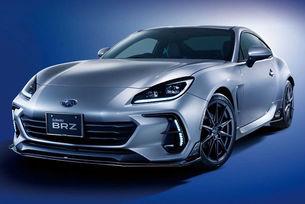 Subaru представи заводски тунинг за новото поколение на купето BRZ - гамата от аксесоари STI Performance.