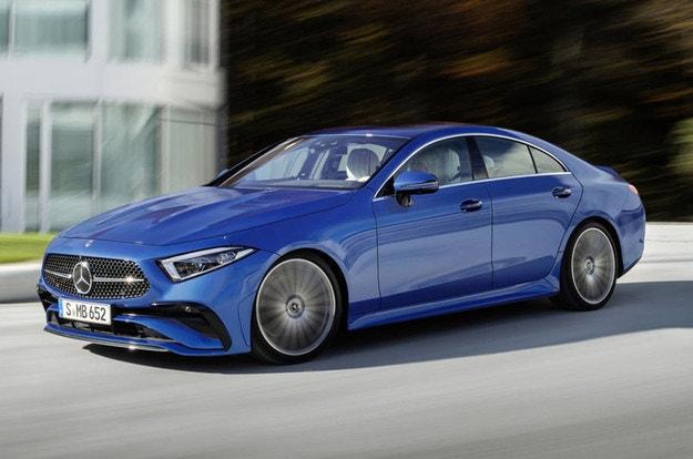 Mercedes представи обновения CLS