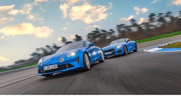 Alpine A110 и BMW Z4: Удоволствие срещу съвършенство
