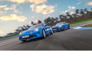 Alpine A110 и BMW Z4