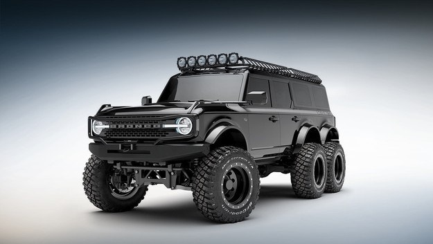 Maxlider ще направи шестколесен Ford Bronco