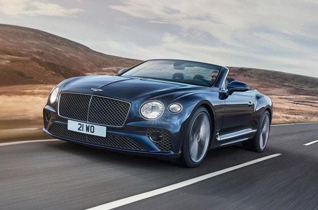 Разкриха Bentley Continental GT Speed Convertible