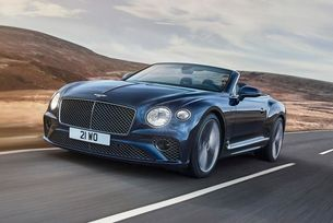 Разкриха Bentley Continental GT Speed Convertible