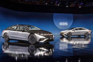 Mercedes-Benz EQS: 350 сензора и автопилот