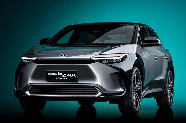 Концептът Toyota bZ4X: Нова серия електромобили