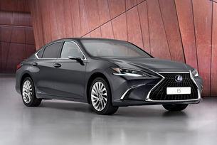 Обновеният Lexus ES се фокусира върху безопасността