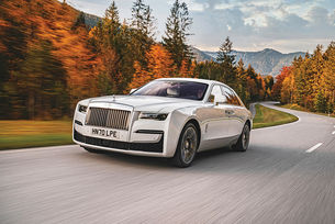 Rolls-Royce Ghost: Бяла тишина