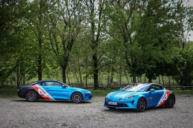 Alpine представя автомобилите A110 Trackside