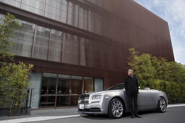 Какво правят Rolls-Royce Motor Cars и Kengo Kuma