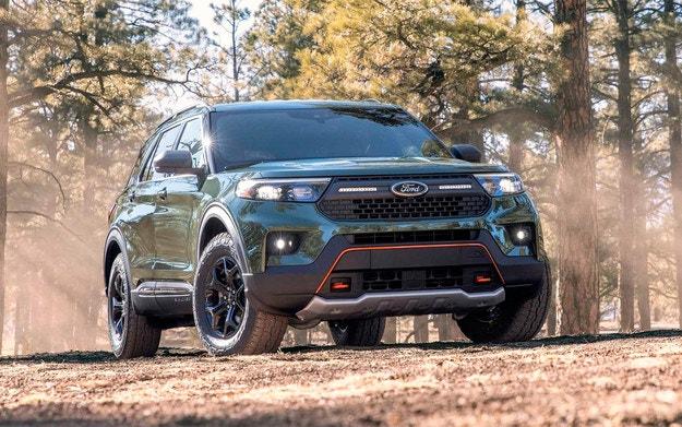 Ford Explorer има версия за тежък офроуд