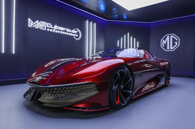 MG Cyberster EV влиза в производство