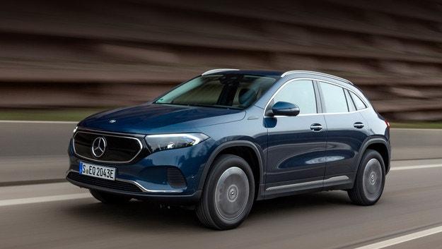 Mercedes-Benz EQA получи двойно предаване