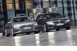 Audi A6 Avant 50 TDI и BMW 530D Touring