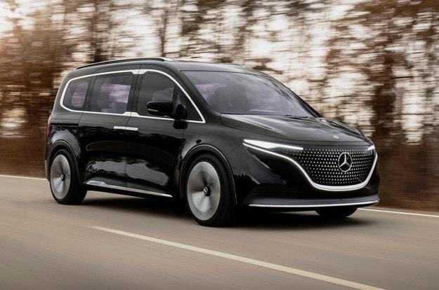 Три микробуса от Mercedes-Benz Concept EQT
