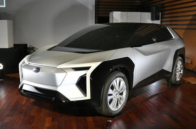 Първият електромобил Subaru Solterra през 2022 г.