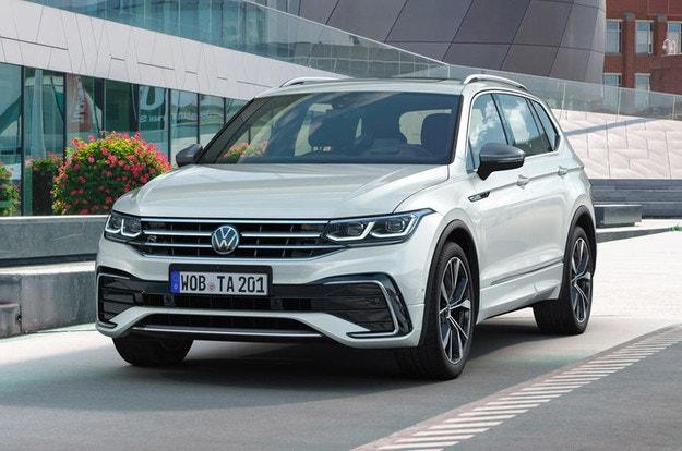 Volkswagen Tiguan Allspace с нов стил и технологии