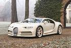 """Bugatti представя Chiron, """"облечен от Hermès"""""""