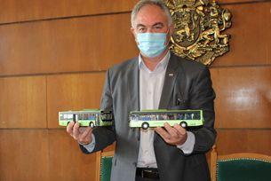 Доставят 14 електрически автобуса YUTONG на Плевен
