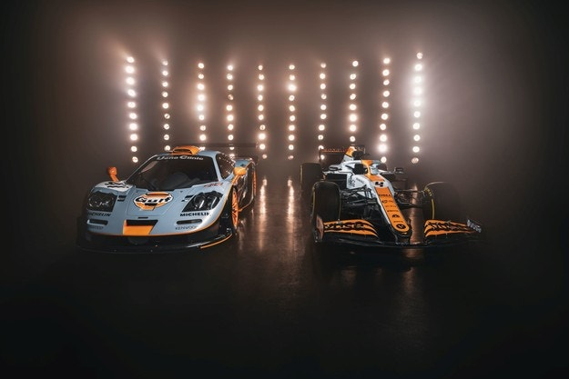McLaren MCL35M Gulf Oil