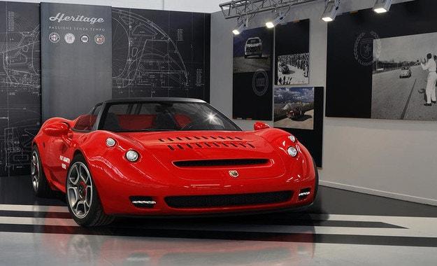 Възраждат спортния автомобил Abarth 1000 SP