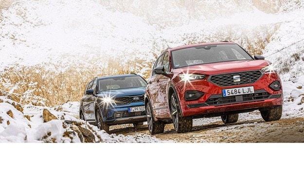 Kia Sorento Hybrid AWD, Seat Tarraco 4Drive: Победа с хибрид?