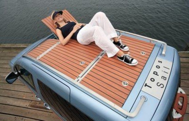 VW Caddy Topos Sail