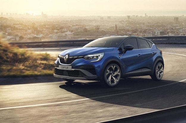 Renault Captur получава опция RS Line за 2021