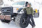Ford F 550 Super Duty в Националния парк Йелоустоун