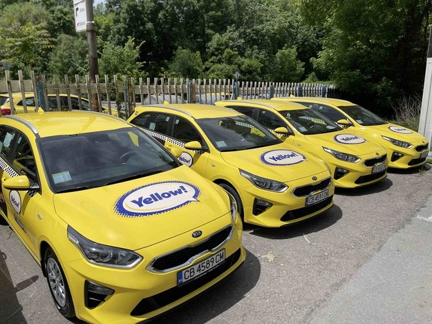 Компанията Yellow! с нови автомобили Kia Ceed sw