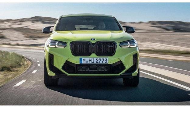 BMW X4 и X4 M F98 (2022)