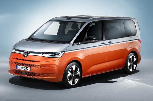 Новият VW Multivan в стил Golf