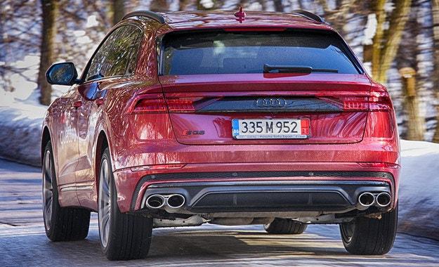 Audi SQ8 TFSI: Сериозна работа