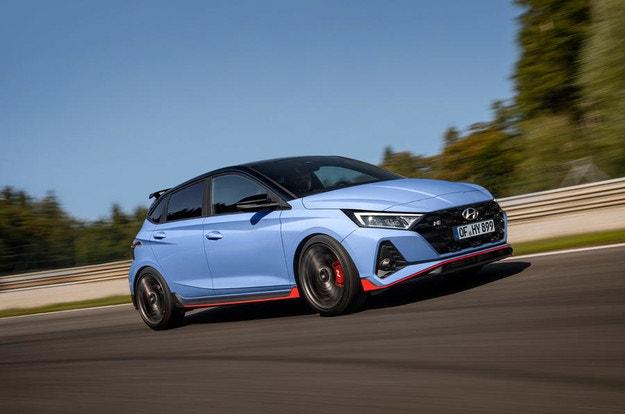 Новият 2021 Hyundai i20 N с мощност 201 к.с.