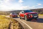 Hyundai Tucson срещу Skoda Karoq: Път към върха