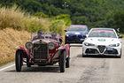 Победа на Alfa Romeo на Mille Miglia 2021