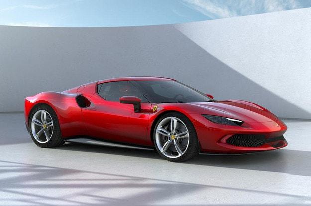Ferrari показа хибрид с V6 двигател и 830 к.с.