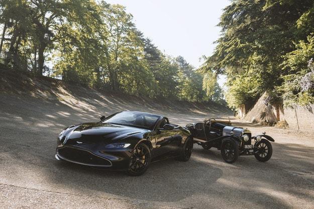 Aston Martin Vantage A3 със стогодишни щрихи