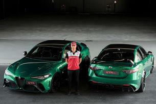 Кими Райконен одобри Alfa Romeo Giulia GTA