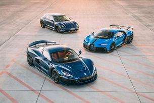 Bugatti-Rimac съчетава гените на силни марки